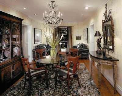 Grand all over lexington designer showhouse - Dining room showcase designs ...